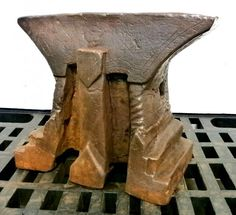 "A079-03 Anvil.  46cm x 12cm x 38cm.  In the collection of ""Lesoutils Demagic""."