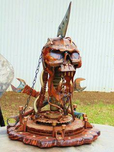 Metal Heads I create