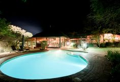 Ubizane Zululand Tree Lodge is situated in the Ubizane Wildlife Reserve. Set in the cool, whispering tranquillity of a fever tree forest, the Tree Tree Forest, South Africa, Swimming Pools, Outdoor Decor, February, Home Decor, Africa, Decoration Home, Pools
