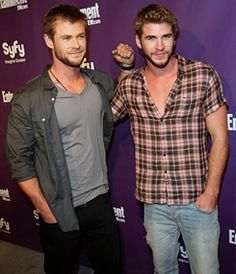 Chris & Liam Hemsworth