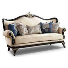 Living Room Furniture, Home Furniture, Victorian Sofa, French Bed, Traditional Sofa, Beige Sofa, Leather Roll, Bedroom Ceiling, Toss Pillows