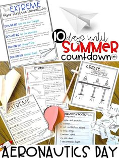 These full day lesson plans are so fun and they are sure to fill the last 10 days before summer break. Survive the last days of school with this kit.