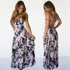 Mystic Love Maxi Dress  www.daintyhooligan.com