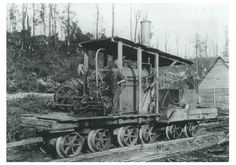 1904 Early Geared Steam Locomotive