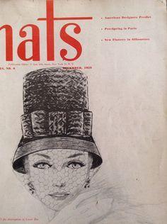 Hats Magazine by MinaLucinda on Etsy