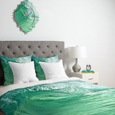 DENY Designs Lisa Argyropoulos within the Eye Duvet Cover Collection | AllModern