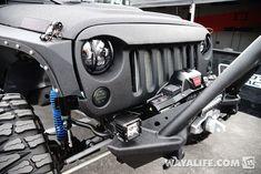 2014 SEMA Black CAL50 Starwood Motors KMC Jeep JK Wrangler Unlimited