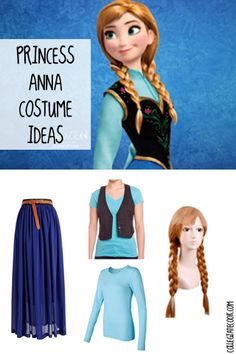 #Halloween13: Frozen Costume Ideas - Anna costume (featuring clothes you'd actually want to wear after Halloween)