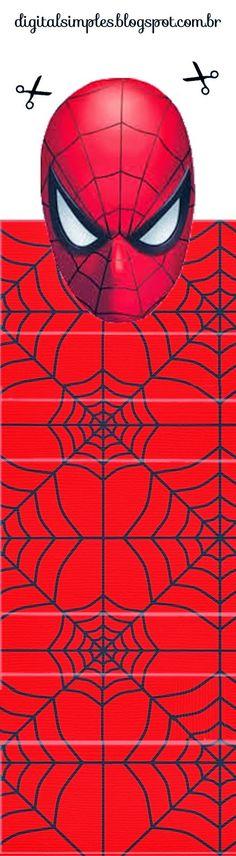 Spiderman Envoltorios Especiales para Golosinas, para Imprimir Gratis.   Ideas y material gratis para fiestas y celebraciones Oh My Fiesta!