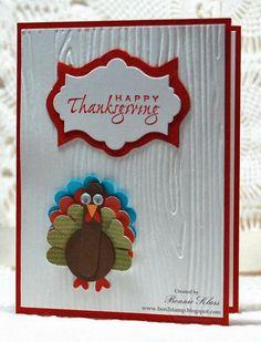 Holidays & Wishes turkey ~ SU! ~ Stamping with Klass