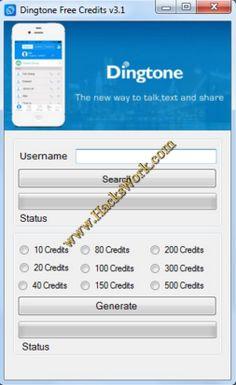 Dingtone Créditos Generador v3.1