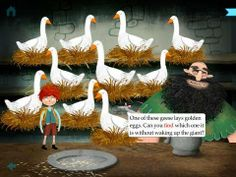 Jack and the Beanstalk by Nosy Crow - an interactive adaptation of the classic tale with extra activities. Original Appysmarts score: 95/100!