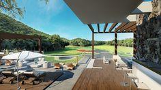 Maquete eletrônica Tabatinga Costa Verde Golfe Clube OC3 Design