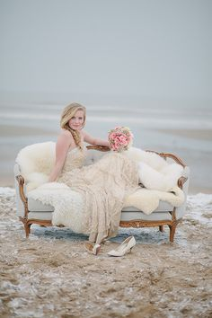 Pastel Winter Inspiration Shoot by Jennifer Hejna
