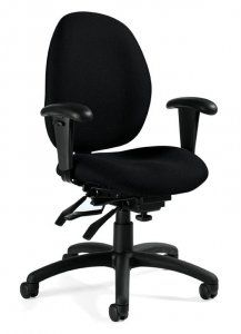 Global Malaga Low Back Multi-Tilter with height adjustable arms SKU: 3141-3 Our mission is to produce products of world class design that the average person can afford. Global offers a very broad range of products and services to meet the needs of today's changing workplace.  Malaga features a multi-curved backrest. Availability: 2 Available Color(s) Pricing: $518.70