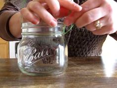 DIY lanterns- this is how you make the wire handles (video tutorial)