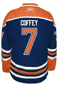 29b7213a2 Edmonton Oilers VINTAGE Paul COFFEY  7 Official Home Reebok Premier Replica  Adul CoolHockey
