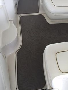 Snap In Carpet on a customer's boat
