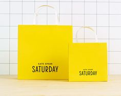 Kate Spade Saturday Packaging | Allison Henry Aver