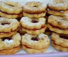 Rókafarok III. Recept képpel - Mindmegette.hu - Receptek Hungarian Cookies, Hungarian Desserts, Waffle Cake, Doughnut, Waffles, Muffin, Yummy Food, Sweets, Success