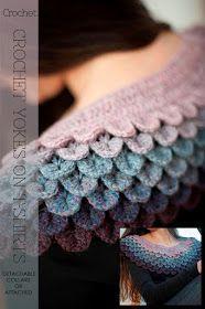 DiaryofaCreativeFanatic: Needlecrafts - Crochet Yokes