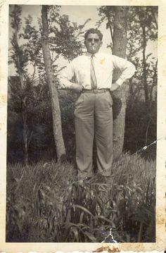 Luigi Volpi nel 1951 a Camugliano
