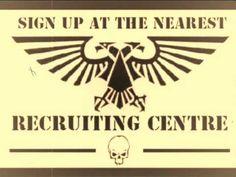 Imperial recruiting film (40k)