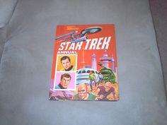 1st Star Trek annual, got this Christmas 1969