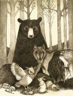 Cherokee Native American Animal Meanings   http://nativeamericanencyclopedia.com/animal-dictionary/  Native american encyclopedia 2013