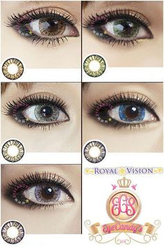 Royal Vision Creamy series circle lens colored contacts cosmetic lenses