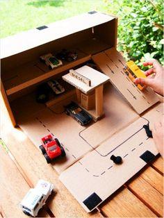 Brincando com Caixa de Papelão – DIY   Coisas da MY