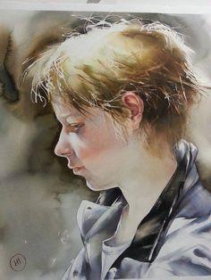 Watercolor by Ilya Ibryaev(Russia) https://scontent-b-fra.xx.fbcdn.net/hphotos-xpa1/t1.0-9/10455239_884717234877136_3804303914405392683_n.jpg