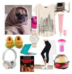 """HOME CHILLIN😝"" by jorgiez on Polyvore featuring Banana Republic, Christian Dior, Casetify, Kate Spade, Forever 21, B&O Play, Speck, Nostalgia Electrics and Better Homes and Gardens"