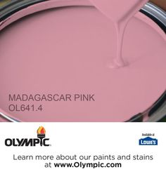 MADAGASCAR PINK OL641.4 is a part of the reds collection by Olympic® Paint.