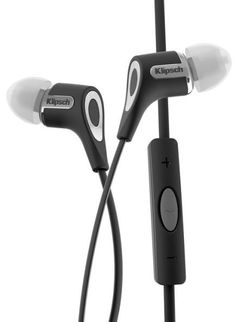 Klipsch R6 In-Ear Headphone for Apple Products - Black