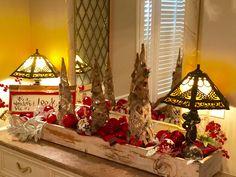 Quick change to Christmas decor