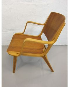Ax chair designed by Peter Hvidt, 1950 Cycle Store, Scandinavian Style, Chair Design, Teak, Accent Chairs, Lust, Furniture, Home Decor, Bicycle Store