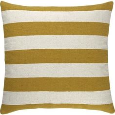 """Olin Gold 25"""" Floor Pillow from Crate & Barrel"""