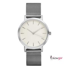 Fashion Simple Stylish Top Brand Watches Stainless Steel Mesh Strap Mens Quartz-watch  #gettheglowgirl #supercuteworkoutwear #aftergymwear #pilates #yoga #stylishleggings Casual Watches, Cool Watches, Watches For Men, Women's Watches, Elegant Watches, Wrist Watches, Female Watches, Gold And Silver Watch, Black Gold