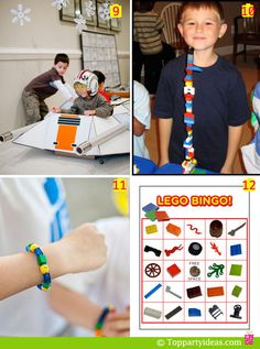 Lego Party Games and Activities number 9 to 12