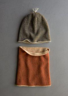 Reversible Hat + Reversible Cowl in New Colors