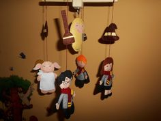 Harry Potter Crib Mobile, Harry Potter Baby Room DEcor, Harry Potter Hursery, Felt Crib Mobile by Kidspaceonly on Etsy