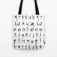 Alphabet Cats Tote Bag