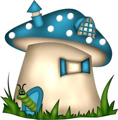 Scrapkit Cute Bugs and Co Mushroom Crafts, Mushroom Art, Diy And Crafts, Arts And Crafts, Paper Crafts, Mushroom House, Art Drawings For Kids, House Quilts, Cute Clipart