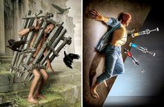12 Powerful Illustrations Reveal How Modern Society Is Seriously Sick