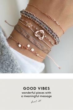 good vibes rose grau aussergewoehnlich schmuck online kaufen