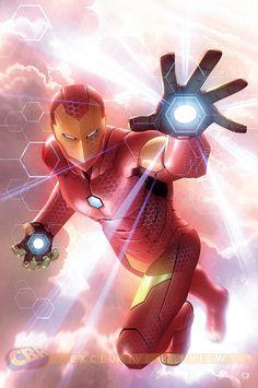 Invincible Iron Man #2 by Alex Garner *