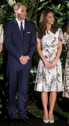 The Duke and Duchess of Cambridge wrapped up day two and attended a British Gala at Singapore's Eden Hall