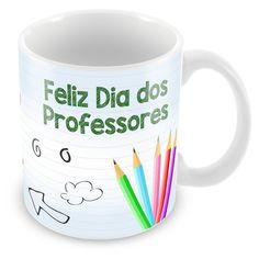 Caneca Porcelana Dia dos Professores Poder de Transformar - ArtePress | Brindes Personalizados, Canecas, Copos, Xícaras
