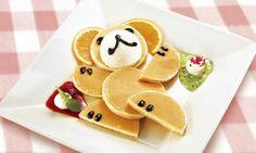 Cute teddy bear breakfast!